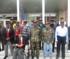 We celebrated Veterans Day with a ceremony honoring all service members.
